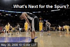What's Next for the Spurs?