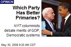 Which Party Has Better Primaries?