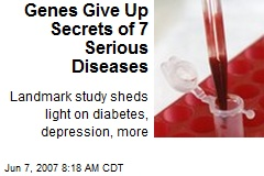 Genes Give Up Secrets of 7 Serious Diseases