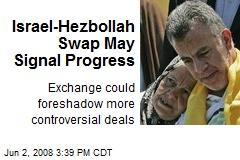 Israel-Hezbollah Swap May Signal Progress