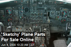 'Sketchy' Plane Parts For Sale Online