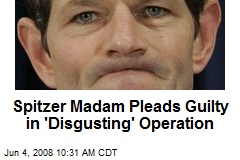 Spitzer Madam Pleads Guilty in 'Disgusting' Operation