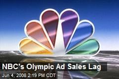 NBC's Olympic Ad Sales Lag