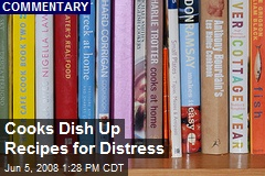 Cooks Dish Up Recipes for Distress