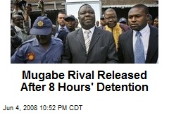 Mugabe Rival Released After 8 Hours' Detention