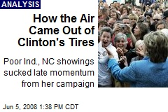 How the Air Came Out of Clinton's Tires
