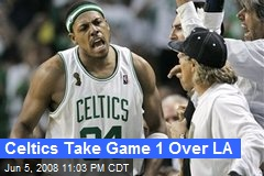 Celtics Take Game 1 Over LA