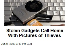Stolen Gadgets Call Home With Pictures of Thieves