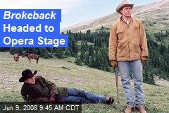 Brokeback Headed to Opera Stage