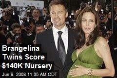 Brangelina Twins Score $140K Nursery