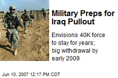 Military Preps for Iraq Pullout