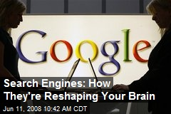 Search Engines: How They're Reshaping Your Brain