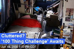 Cluttered? '100 Thing Challenge' Awaits