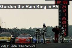 Gordon the Rain King in PA