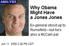 Why Obama Might Have a Jones Jones