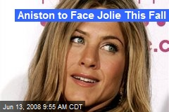 Aniston to Face Jolie This Fall