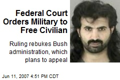 Federal Court Orders Military to Free Civilian