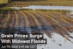 Grain Prices Surge With Midwest Floods