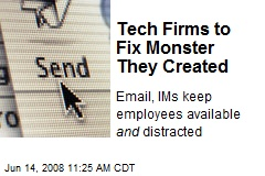 Tech Firms to Fix Monster They Created