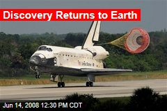 Discovery Returns to Earth