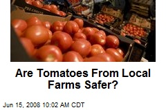 Are Tomatoes From Local Farms Safer?