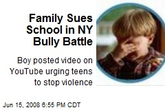 Family Sues School in NY Bully Battle