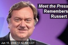 Meet the Press Remembers Russert