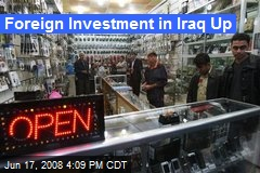 Foreign Investment in Iraq Up