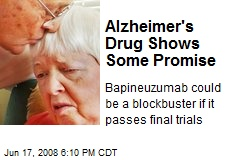 Alzheimer's Drug Shows Some Promise