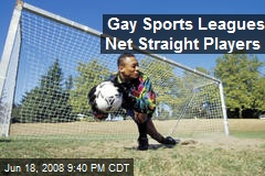 Gay Sports Leagues Net Straight Players