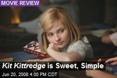 Kit Kittredge is Sweet, Simple