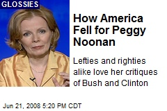 How America Fell for Peggy Noonan