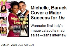 Michelle, Barack Cover a Major Success for Us