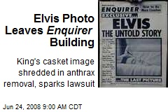 Elvis Photo Leaves Enquirer Building
