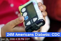 24M Americans Diabetic: CDC