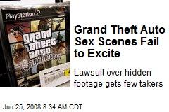 Grand Theft Auto Sex Scenes Fail to Excite