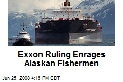 Exxon Ruling Enrages Alaskan Fishermen