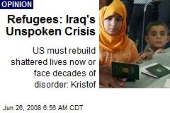 Refugees: Iraq's Unspoken Crisis