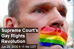 Supreme Court's Gay Rights Revolution