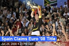 Spain Claims Euro '08 Title