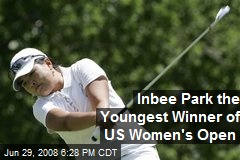 Inbee Park the Youngest Winner of US Women's Open