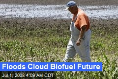 Floods Cloud Biofuel Future