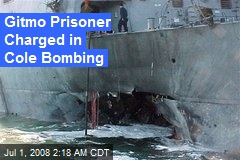 Gitmo Prisoner Charged in Cole Bombing