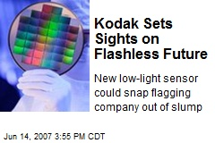 Kodak Sets Sights on Flashless Future