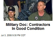 Military Doc: Contractors In Good Condition