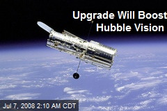 Upgrade Will Boost Hubble Vision