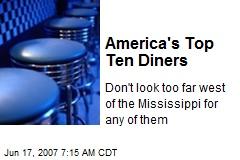 America's Top Ten Diners