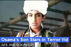 Osama's Son Stars in Terror Vid