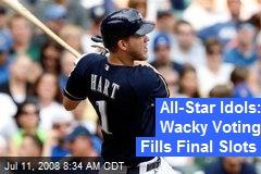 All-Star Idols: Wacky Voting Fills Final Slots
