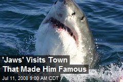 'Jaws' Visits Town That Made Him Famous
